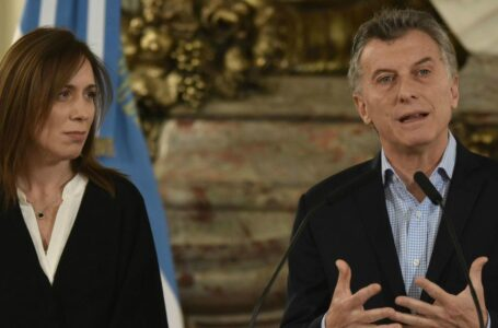 Vidal analiza separar las elecciones bonaerenses de las presidencia ante la caída catastrófica de Macri