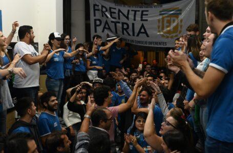 UNR: el peronismo ganó el Centro de Estudiantes de Derecho, terminando con 11 años de conducción del MNR