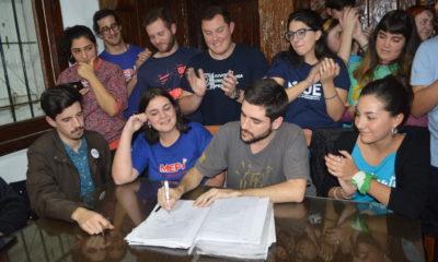 Joaquín Agosto es el nuevo presidente de la Federación Universitaria Marplatense