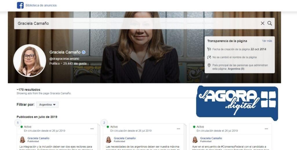 Consenso Federal sin una línea unánime en el uso de publicidad en Facebook