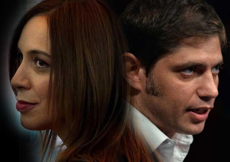 debate Kicillof-Vidal: Kicillof quiere debatir pero Vidal no quiere debatir hasta no tener los resultados de las PASO