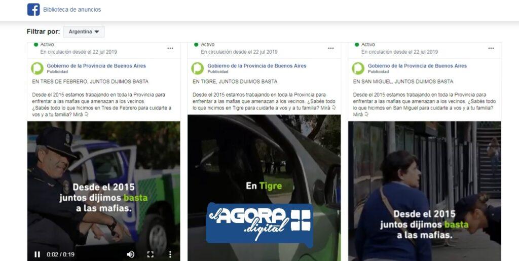Juntos por el cambio y Vidal principales usuarios de publicidad en Facebook