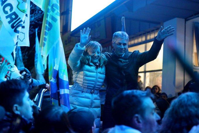 Alicia Kirchner fue reelecta gobernadora de Santa Cruz
