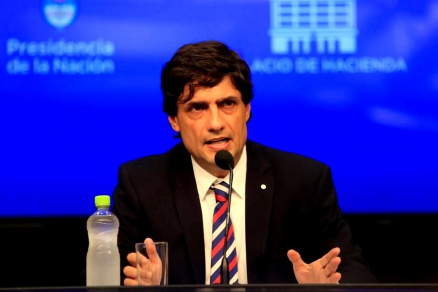 Lacunza culpó a Alberto Fernández