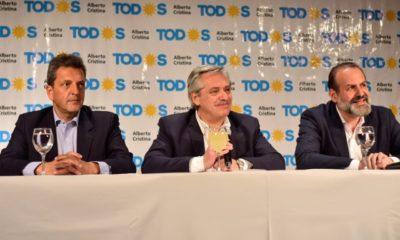 Conferencia de prensa de Alberto Fernández en Bahía Blanca