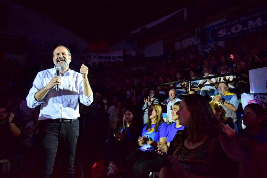 cierre de campaña de Federico Susbielles