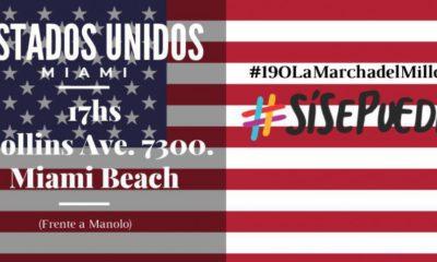 """Cambiemos convoca a una marcha del """"Sí, se puede"""" en Miami"""