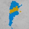 Guillermo Aquino jugó con las ideas de Peronia y Chetolovaquia, la Argentina del centro que se separa del resto del país tras las elecciones