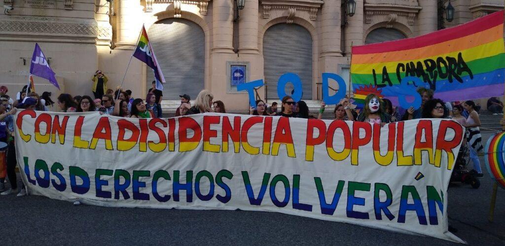 Novena Marcha del Orgullo en Bahía Blanca