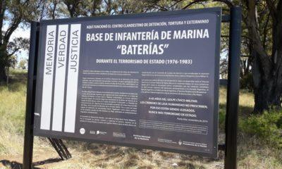 Señalización del Centro Clandestino de Detención, Tortura y Exterminio Séptima Batería