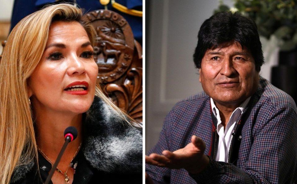 Áñez acusa a Evo Morales de terrorismo y sedición