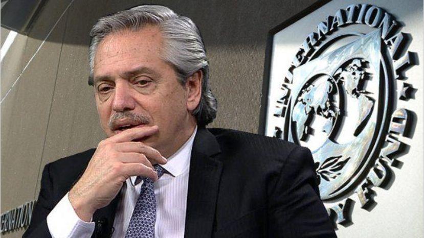 Alberto Fernández descartó un nuevo desembolso de dólares por parte del FMI