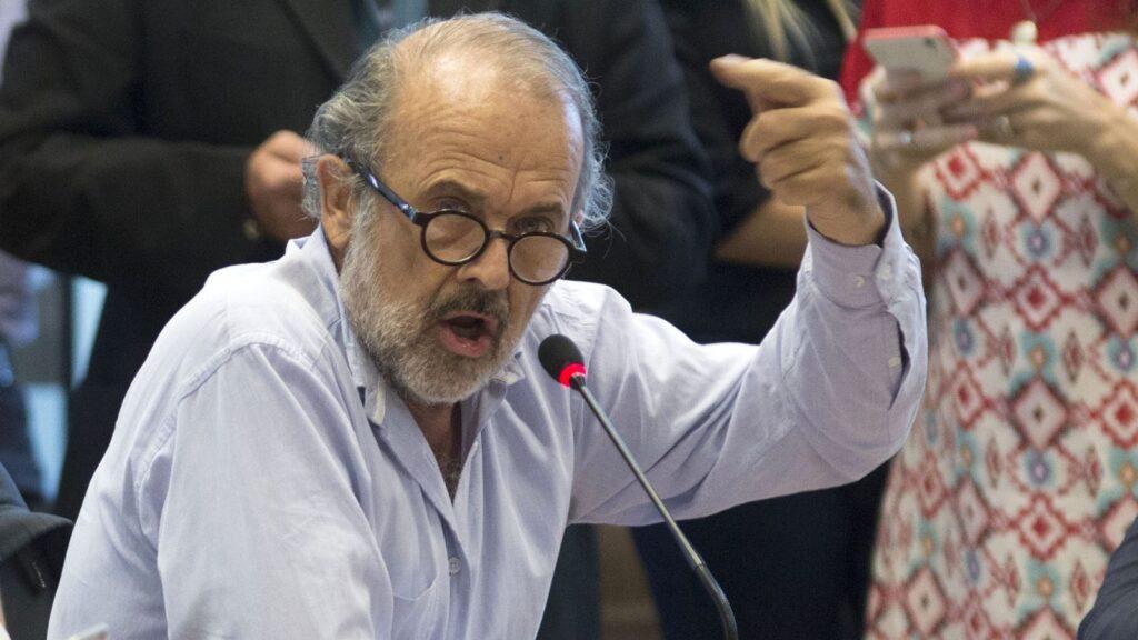 Eduardo Amadeo amenazó a un periodista