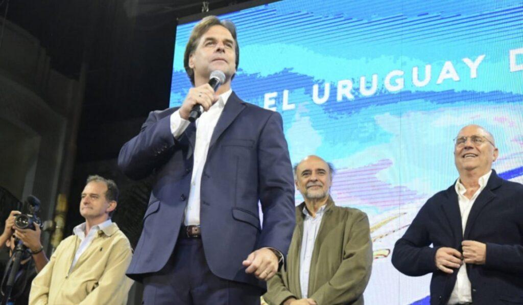 Lacalle Pou ganó las elecciones de Uruguay
