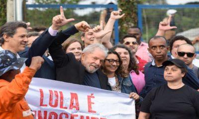 Liberaron al expresidente brasileño Lula Da Silva