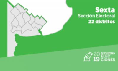 Cómo quedó el mapa de la sexta sección electoral