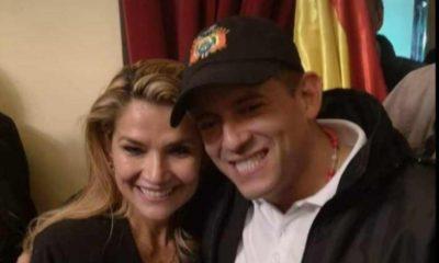 pedido de detención de Jeanine Áñez y Luis Camacho