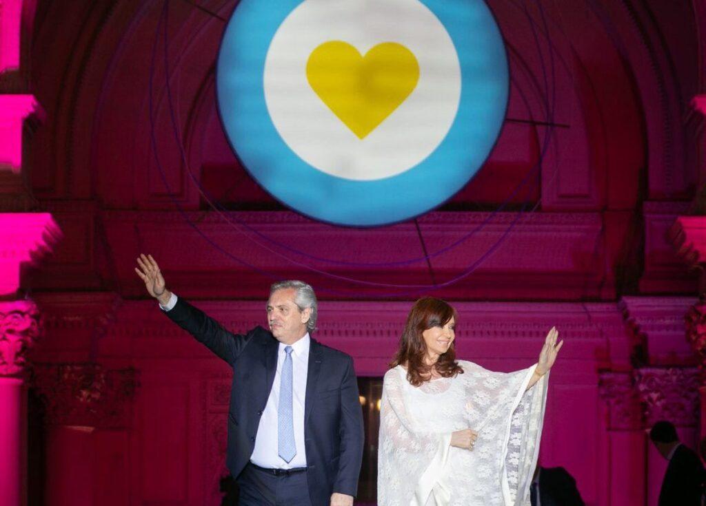 Cristina Fernández de Kirchner envió saludos por el Año Nuevo