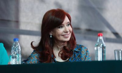 Cristina en la jura de Ferraresi en Avellaneda