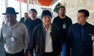 Evo Morales declara argentina delitos de lesa humanidad