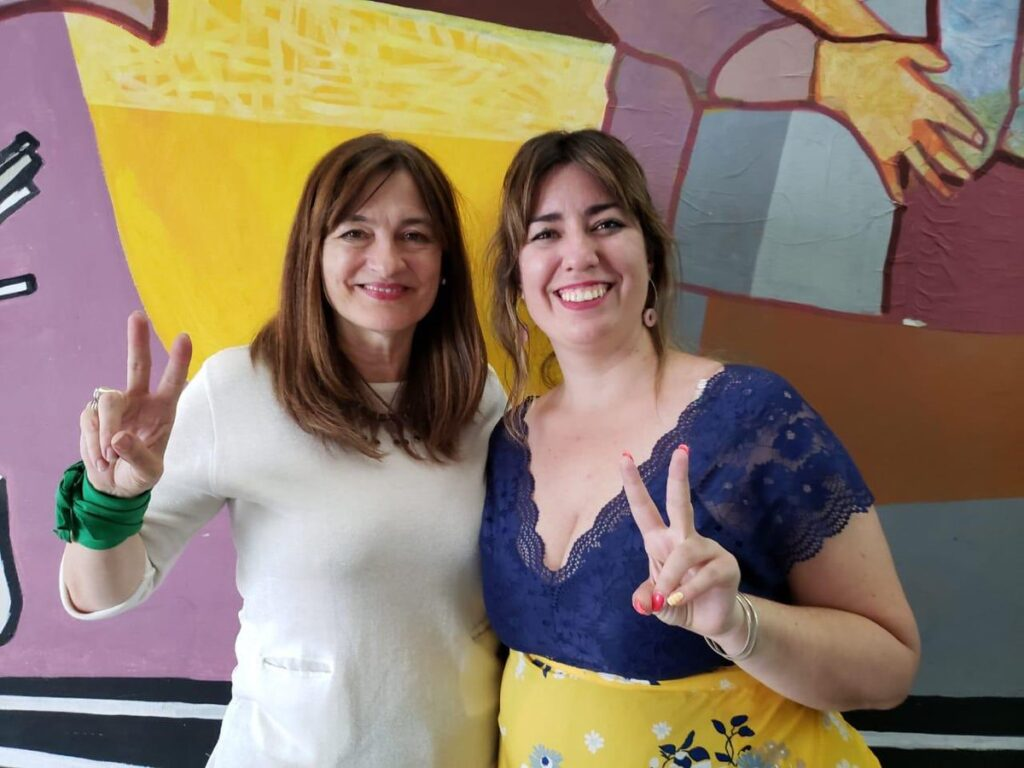 Lucía Portos será Viceministra de la Mujer junto a Estela Díaz