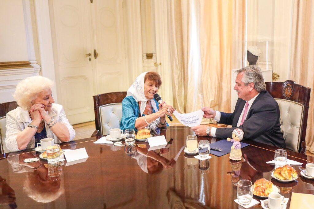alberto fernández reunión con organismos de derechos humanos