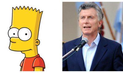 Mauricio Macri es Bart Simpson