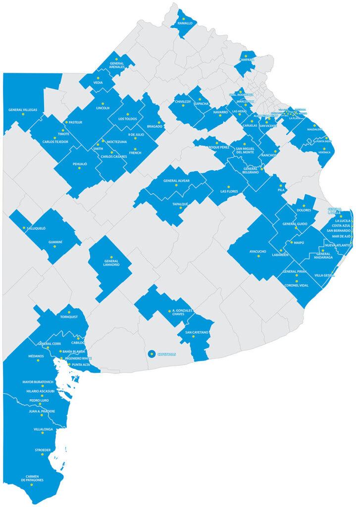 absa distritos