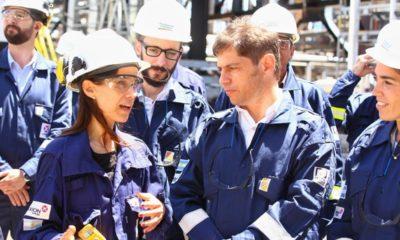 axel kicillof campana refinería petróleo