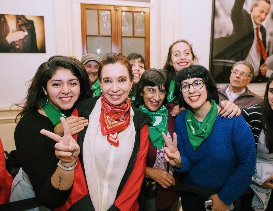 8M: Cristina Fernández de Kirchner celebró el movimiento feminista argentino