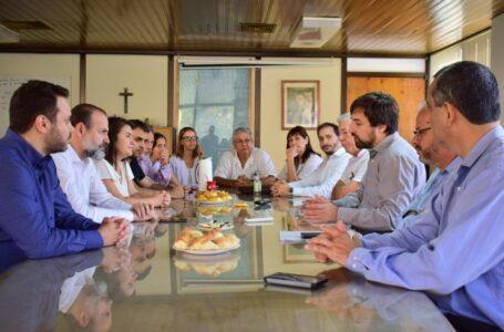 El viceministro de Salud, Nicolás Kreplak, garantizó inversión hospitalaria para el Penna ante la posibilidad de la llegada del Coronavirus