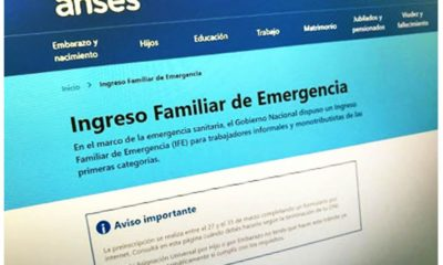 Ingreso Familiar de Emergencia sexta seccion