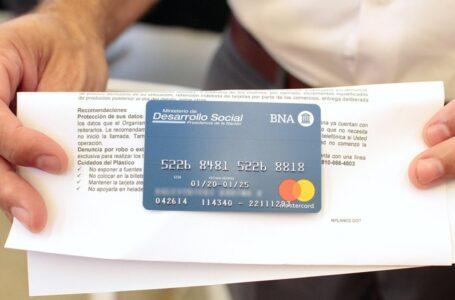 Desarrollo social otorgará un refuerzo extraordinario de entre 4 y 6 mil pesos para la Tarjeta Alimentar
