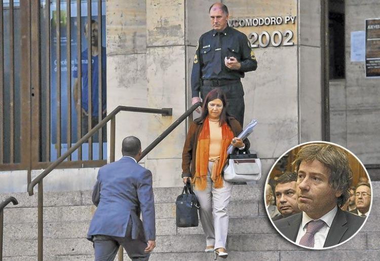 jueza figuero denuncia aprietes mahiques