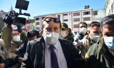 ministro salud bolivia detenido respiradores