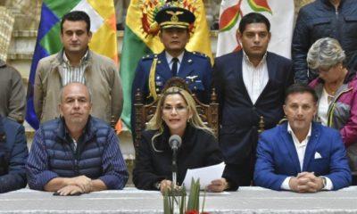 gases lacrimogenos corrupcion añez bolivia
