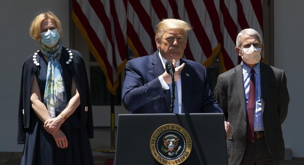 Con el apoyo de Trump, un laboratorio estadounidense venderá un tratamiento para el COVID-19 a más de 2 mil dólares