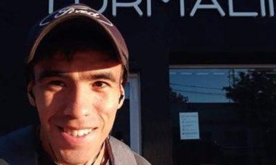 Facundo Castro, un joven de 22 años de Pedro Luro, lleva dos meses desaparecido