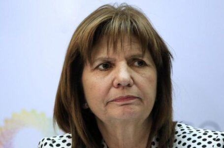 Patricia Bullrich pidó derrocar a Maduro y sugirió que Argentina va rumbo a una dictadura