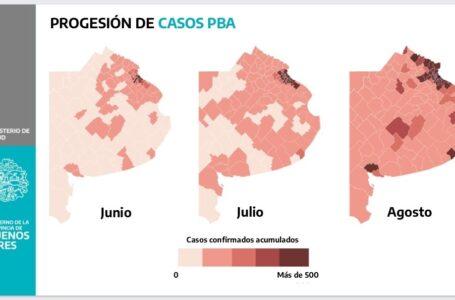 "Gollán afirmó que ya no queda ""ningún municipio"" libre de COVID-19"