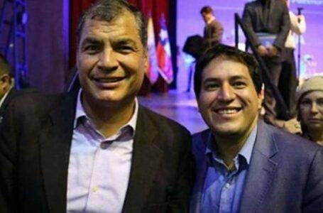Andrés Arauz y Rafael Correa, binomio presidencial de las elecciones en Ecuador