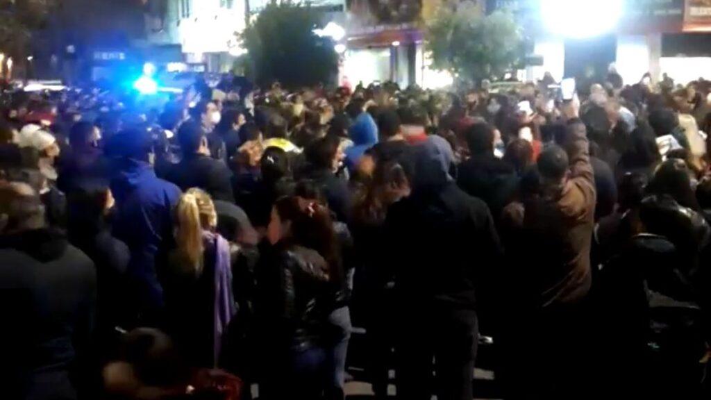 protesta policial