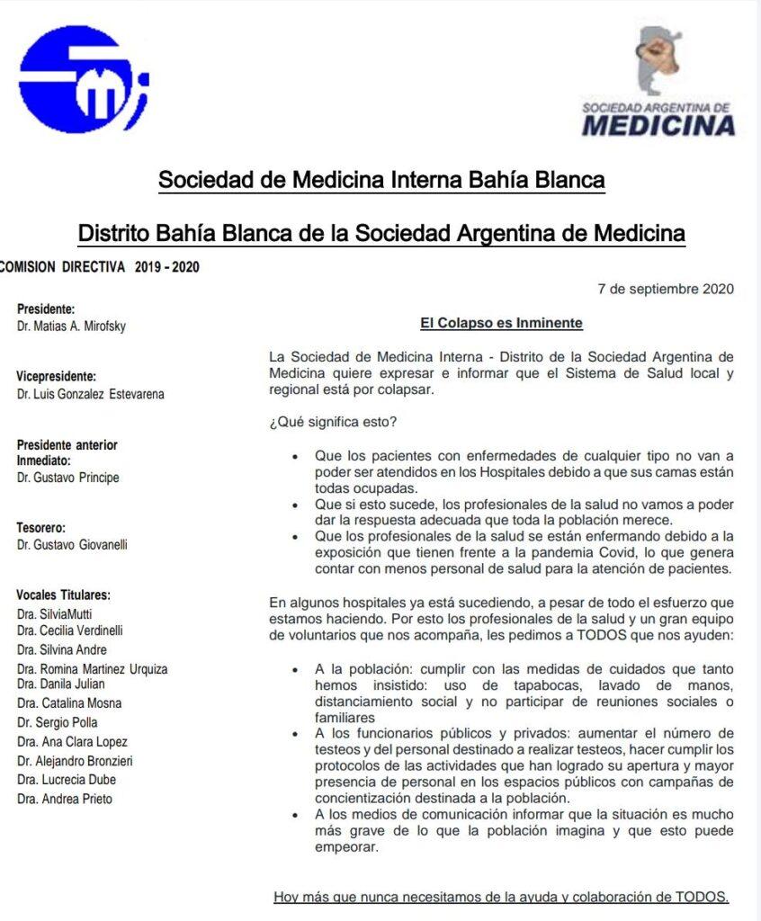 sociedad medicina interna bahia blanca