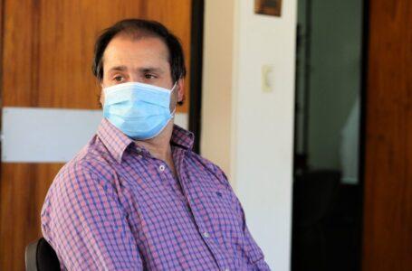 """Lauriano Alimenti: """"estamos vacunando todo el tiempo en una gran franja horaria"""""""