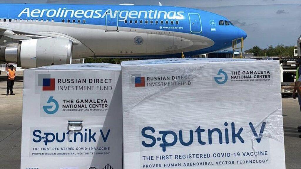 Argentina a la espera de dos millones de dosis de Sputnik V