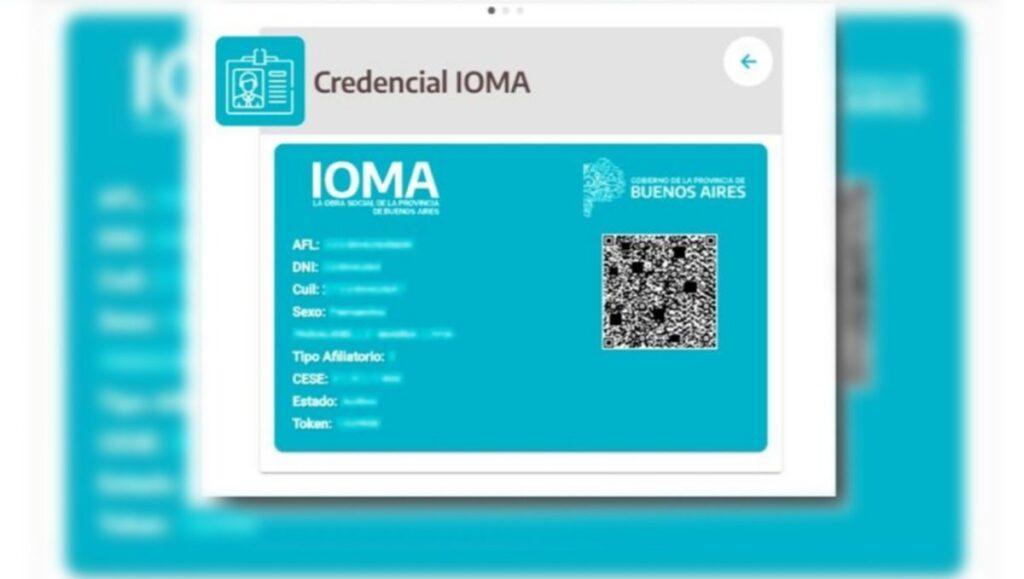 IOMA digital: así se usan la credencial digital, el token y la receta electrónica