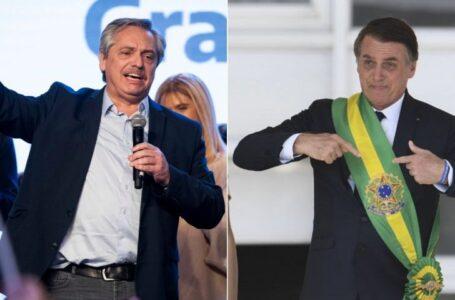 Alberto Fernández se verá cara a cara con Bolsonaro