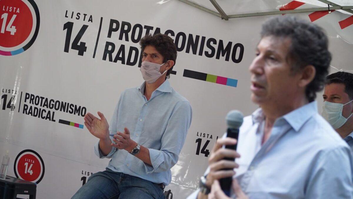 Martín Lousteau y Gustavo Posse