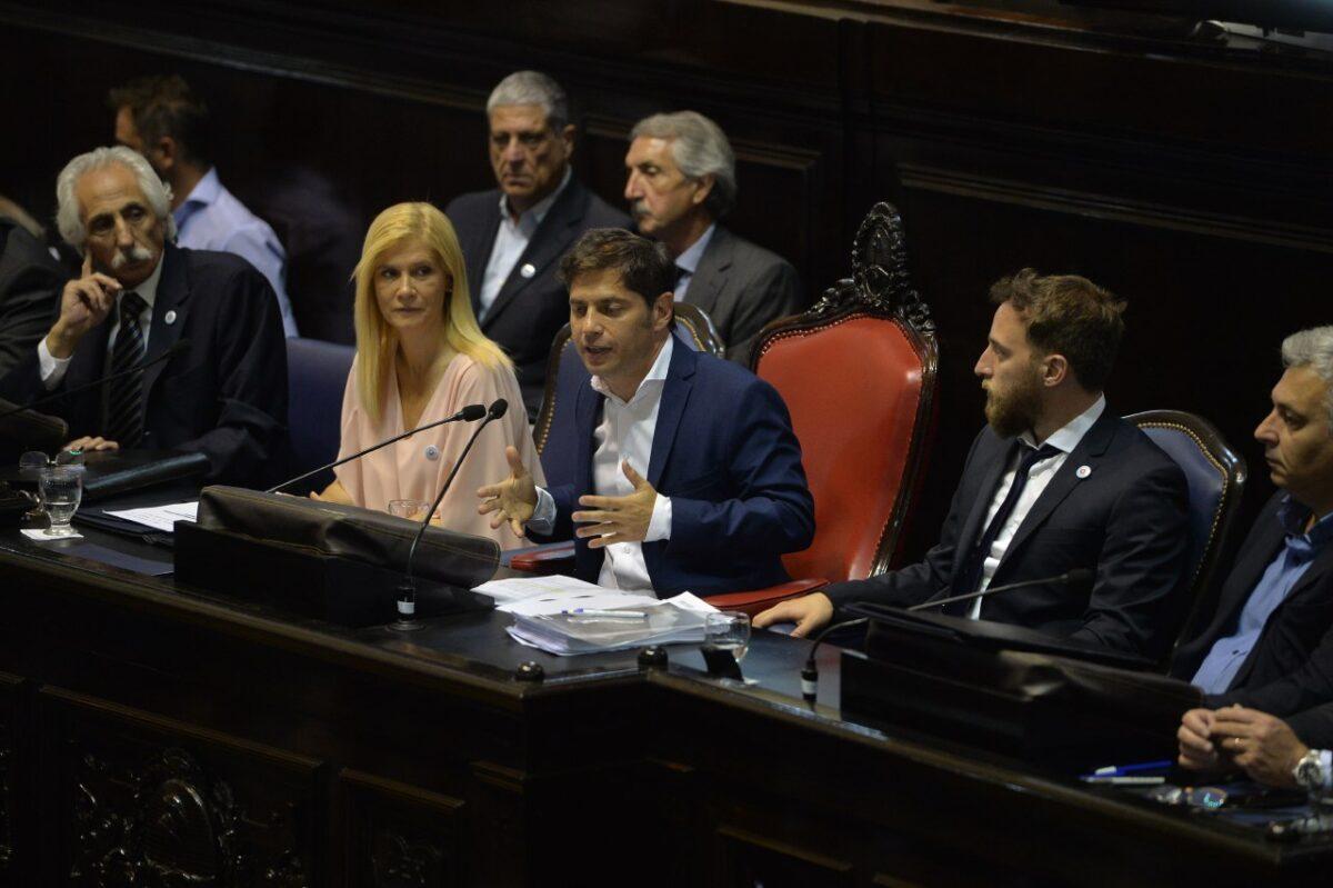 Axel Kicillof presentará un plan postpandemia en la apertura de sesiones ordinarias de la Legislatura