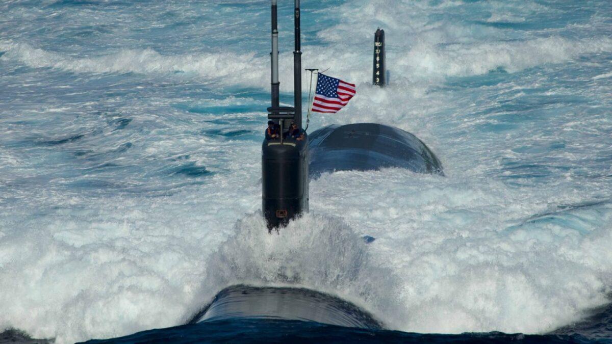 Resultado de imagen para Submarino de EE.UU. opera en el Atlántico Sur